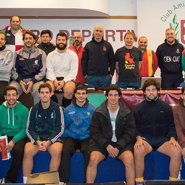 El CAR organizador junto con la Federación Española de Rugby del curso de entrenadores LWR1