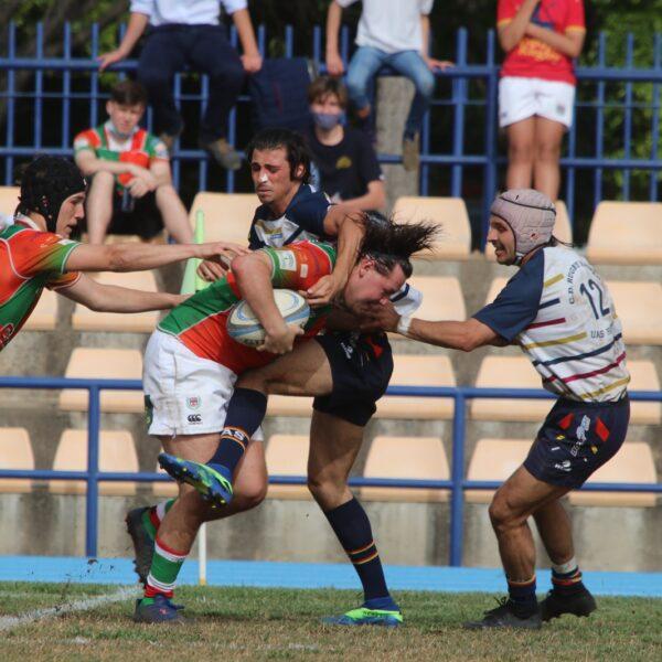 Dura derrota en el Derbi contra CD Rugby Mairena (8-20)