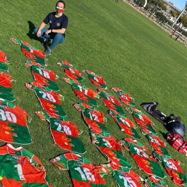 Ester González. Preparadora física SUB18 y Senior B: «Un jugador de rugby no se puede comparar con otro. Son únicos»