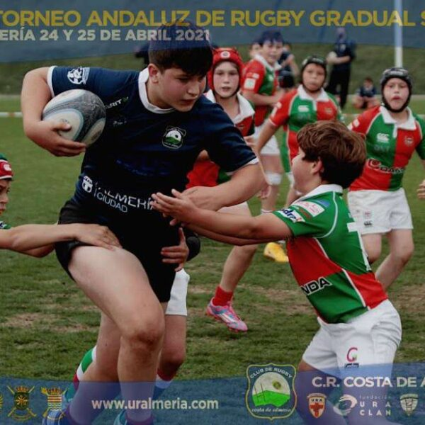 El rugby base andaluz se sigue curtiendo en Almería